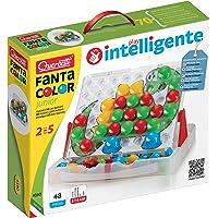Quercetti-Quercetti-4190 Fantacolor Junior-Juego de mosaicos (4190)