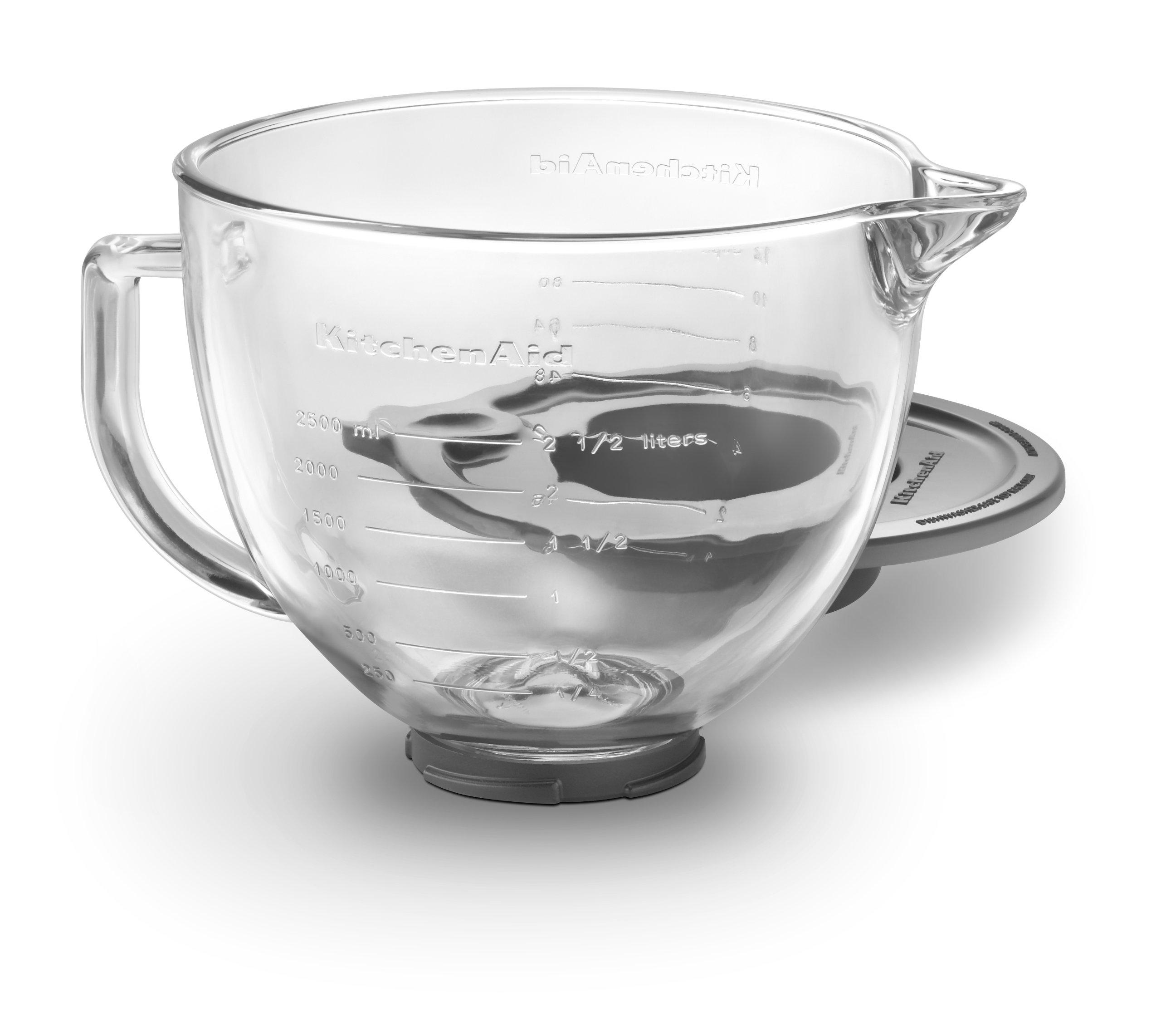 KitchenAid K5GB 5-Qt. Tilt-Head Glass Bowl with Measurement Markings & Lid by KitchenAid (Image #2)
