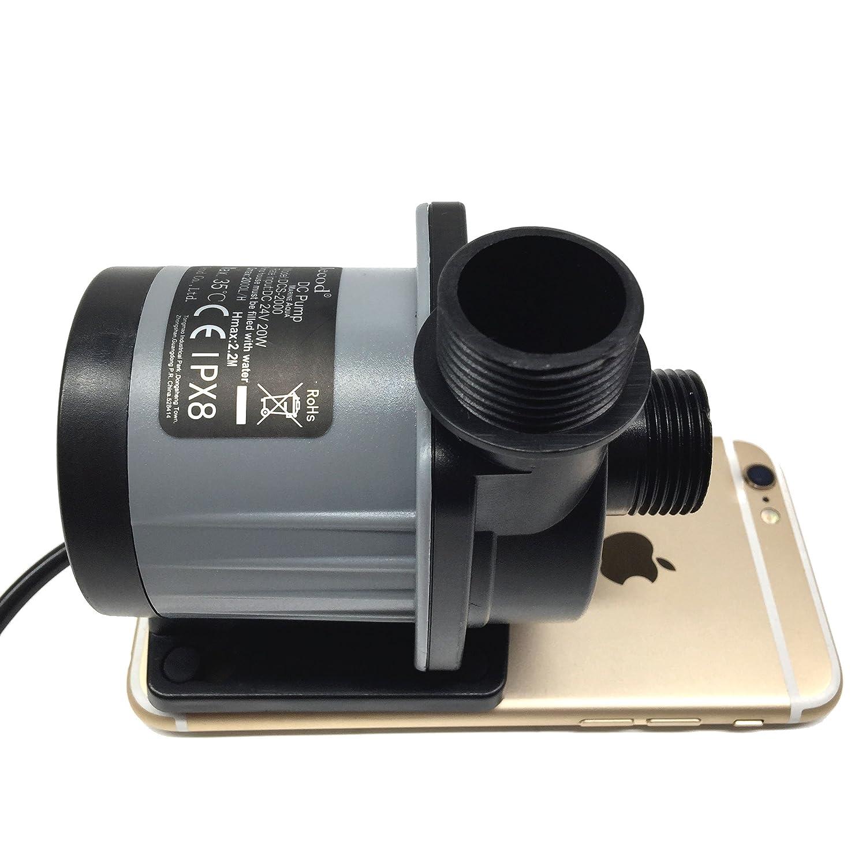 Amazon.com : Jebao/Jecod DCS-2000 Nano DC Pump Adjustable Submersible  Return Pump with Controller 520GPH : Pet Supplies