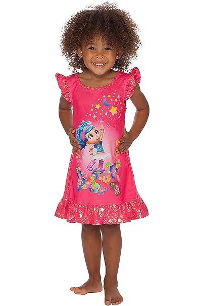 f87df573ef2 Amazon.com  Intimo Girls  Toddler Luna Petunia Ruffle Sleeve ...