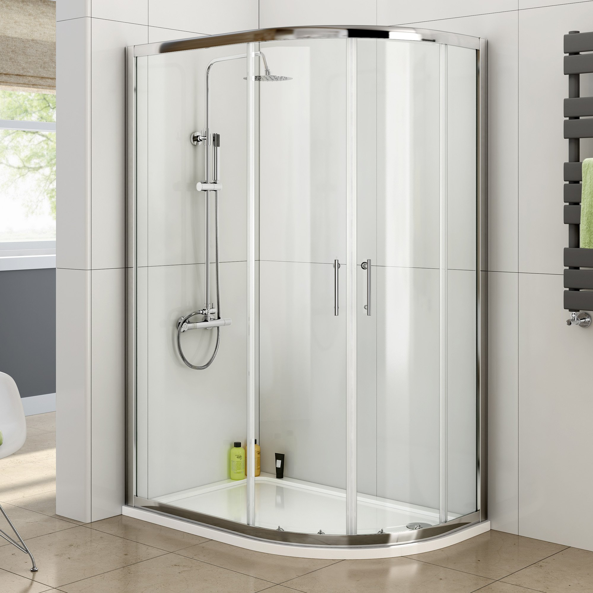 Shower Cubicles With Trays: Amazon.co.uk