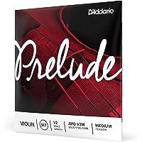 D'Addario J810 1/2M Prelude Violin String Set, 1/2 Scale, Medium Tension