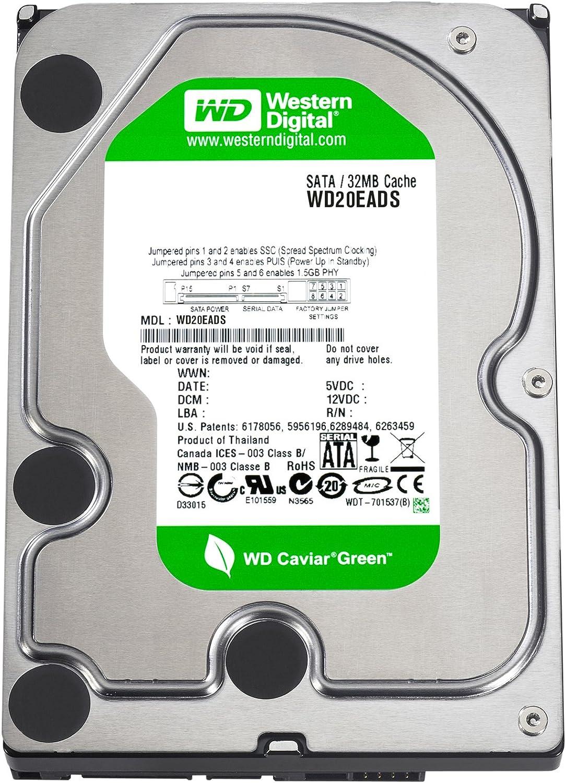 Amazon.com: Western Digital Caviar Green 2 TB SATA II 32 MB ...