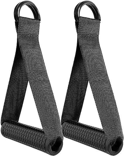 Resistance Handle Attachment Cable Gym Handle Machine Resistance Stirrup