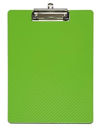 Klemmbrett schwarz Schreibbrett A4 Schreibplatte mit Aufhängeöse