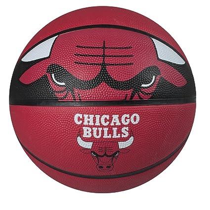 c8d045eaa Spalding NBA Courtside Team Outdoor Rubber Basketball Chicago Bulls Official