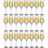 Argon Tableware 'Tallo' Contemporary Champagne Flutes - Party Pack Of 24 Glasses - 230ml (8oz)