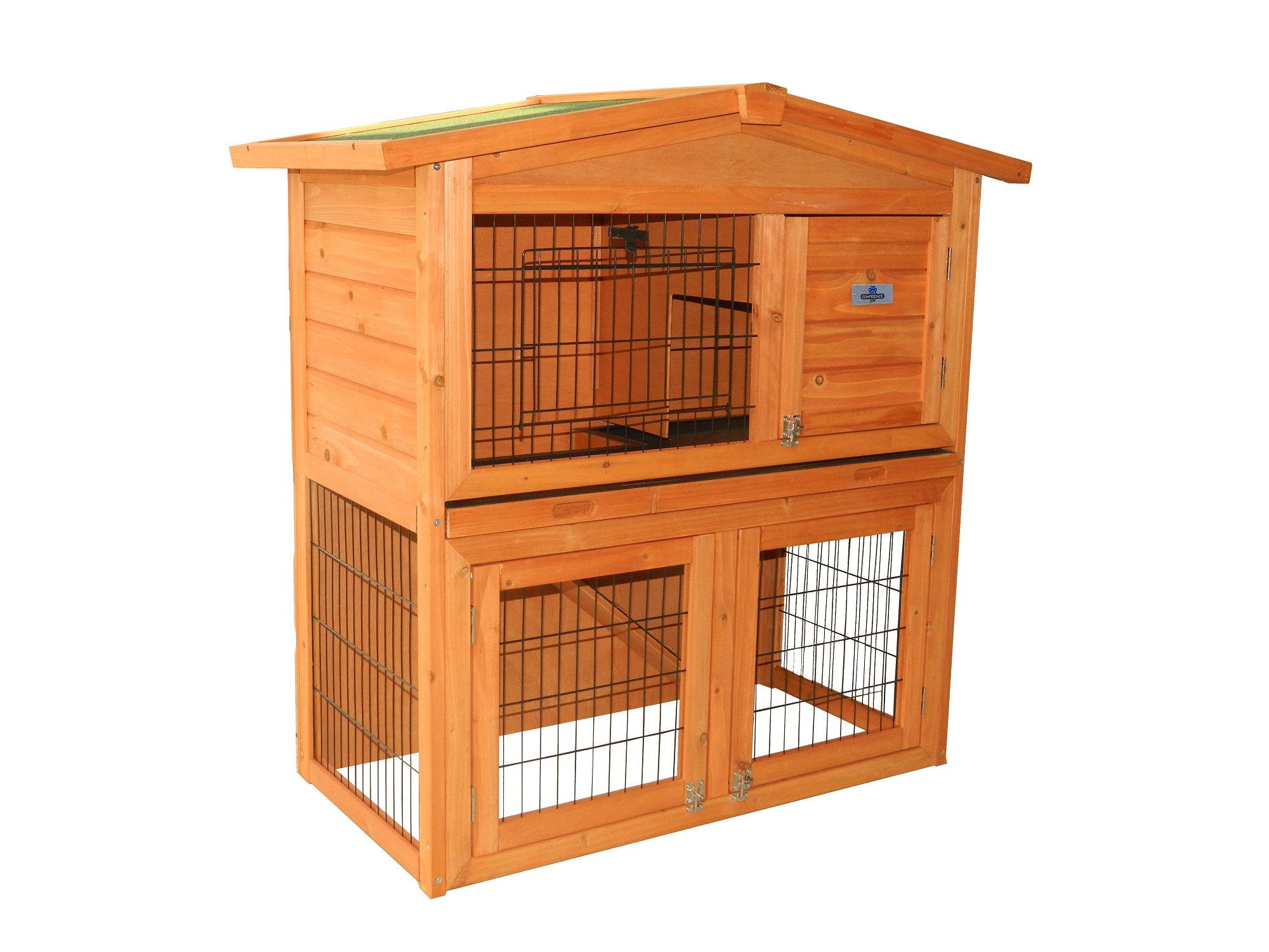 """Confidence Pet 40"""" Rabbit Hutch / Chicken Coop by Confidence"""