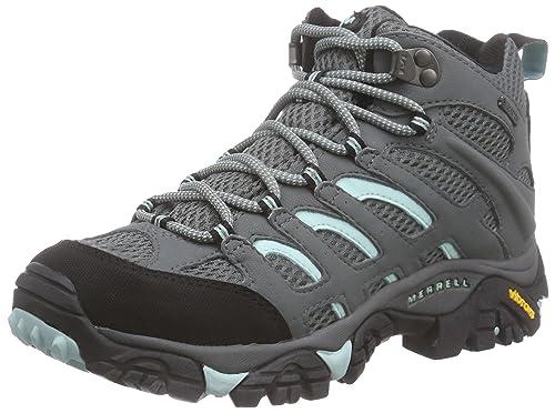 Merrell Moab Mid Gore-Tex - Zapatos de High Rise Senderismo Mujer: Amazon.es: Zapatos y complementos