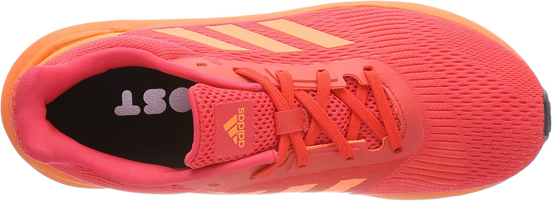 adidas Women's Response St Fitness Shoes Orange Real Coral Hi Res Orange Footwear White 0