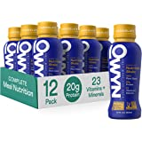 OWYN - Meal Replacement Shakes for Weight Loss, 100% Vegan Protein | Chocolate, 12 Fl Oz (Pack of 12) | Dairy-Free, Gluten-Fr