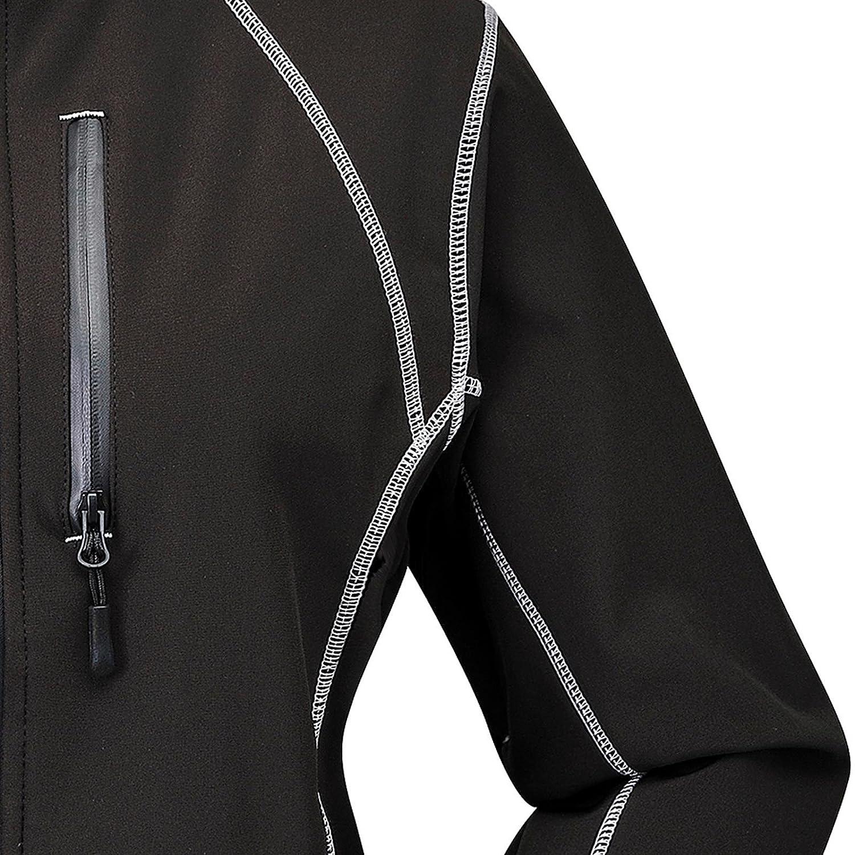 Cox Swain Damen 3-Lagen Outdoor Softshell Jacke Luyu 2.000mm atmungsaktiv 10.000mm Wassers/äule