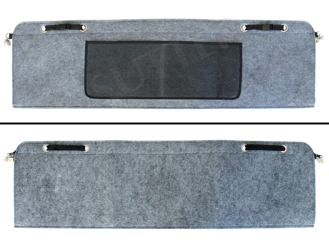SUTTER PKW Gewehrtasche aus Filz 120x35cm Abschlie/ßbare Waffentasche Gewehrfutteral