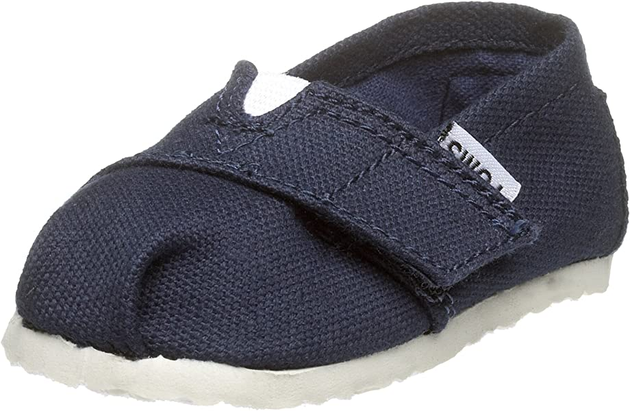 50c89ada5a Amazon.com | TOMS Infant/Toddler Tiny Classic Slip-On, Navy, 9 M US ...