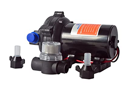 Amazon amarine made 12v water pressure diaphragm pump 189 l amarine made 12v water pressure diaphragm pump 189 lmin 50 gpm 60 psi ccuart Images