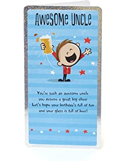 Uncle Birthday Card Funny