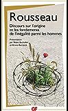 Discours sur l'origine et les fondements de l'inégalité parmi les hommes (GF PHILOSOPHIE)