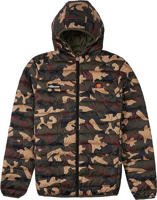 ellesse Jacke Herren LOMPARDY Padded Jacket Camouflage Camo