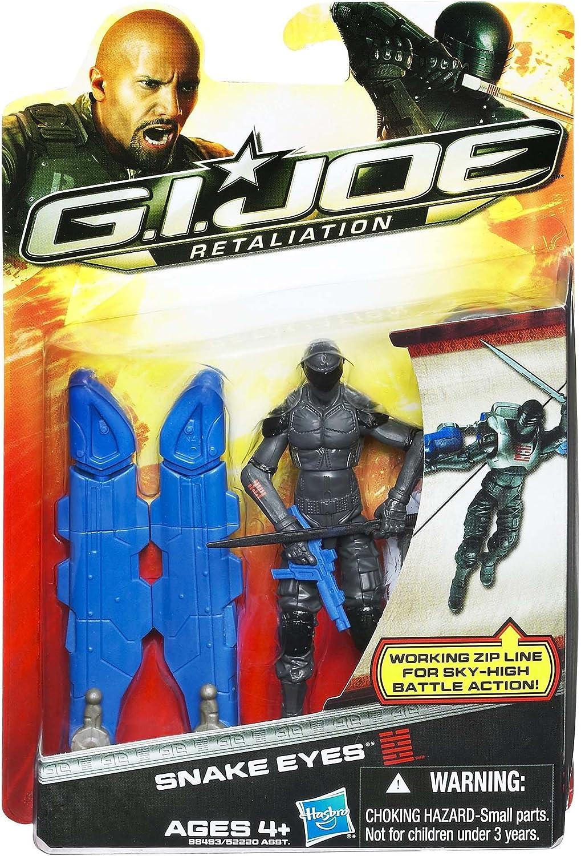 G.I Joe Retaliation Action Figure Snake Eyes 3.75 Inch GI Joe 98493