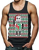 Robot Santa - Ugly Christmas Sweater Men's Tank Top T-shirt