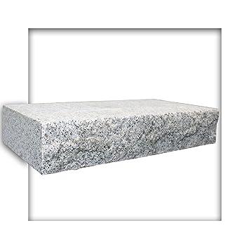 Mauerstein Granit G603 Naturstein Hellgrau 40x20x7 5 Cm Gesagt