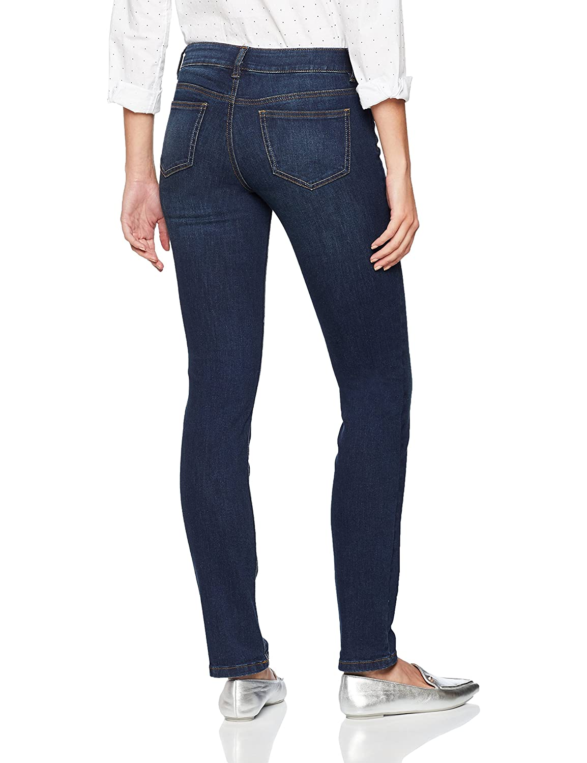 Tom Tailor Straight Jeans Carrie in Cleaner Optik Donna