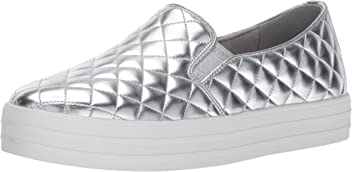 Skechers Double Up-couette, Chaussures Des Femmes Sans Lacets, Noir (noir), 36 Eu