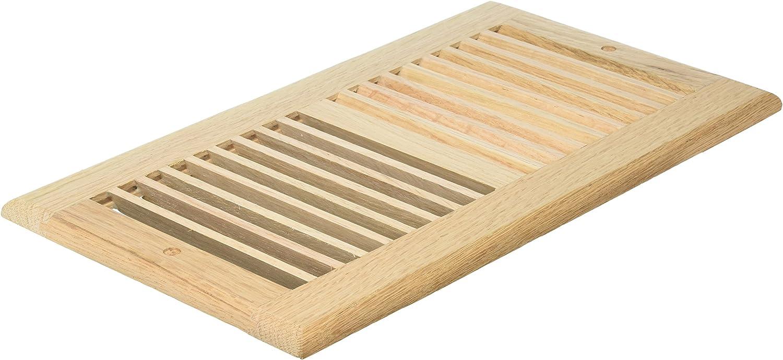 Decor Grates WL612R-U 6-Inch by 12-Inch Wood Return Air, Unfinished Oak
