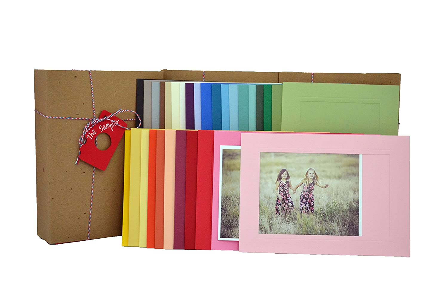 Amazon The Sampler 4x6 Photo Insert Note Cards 30 Cards In