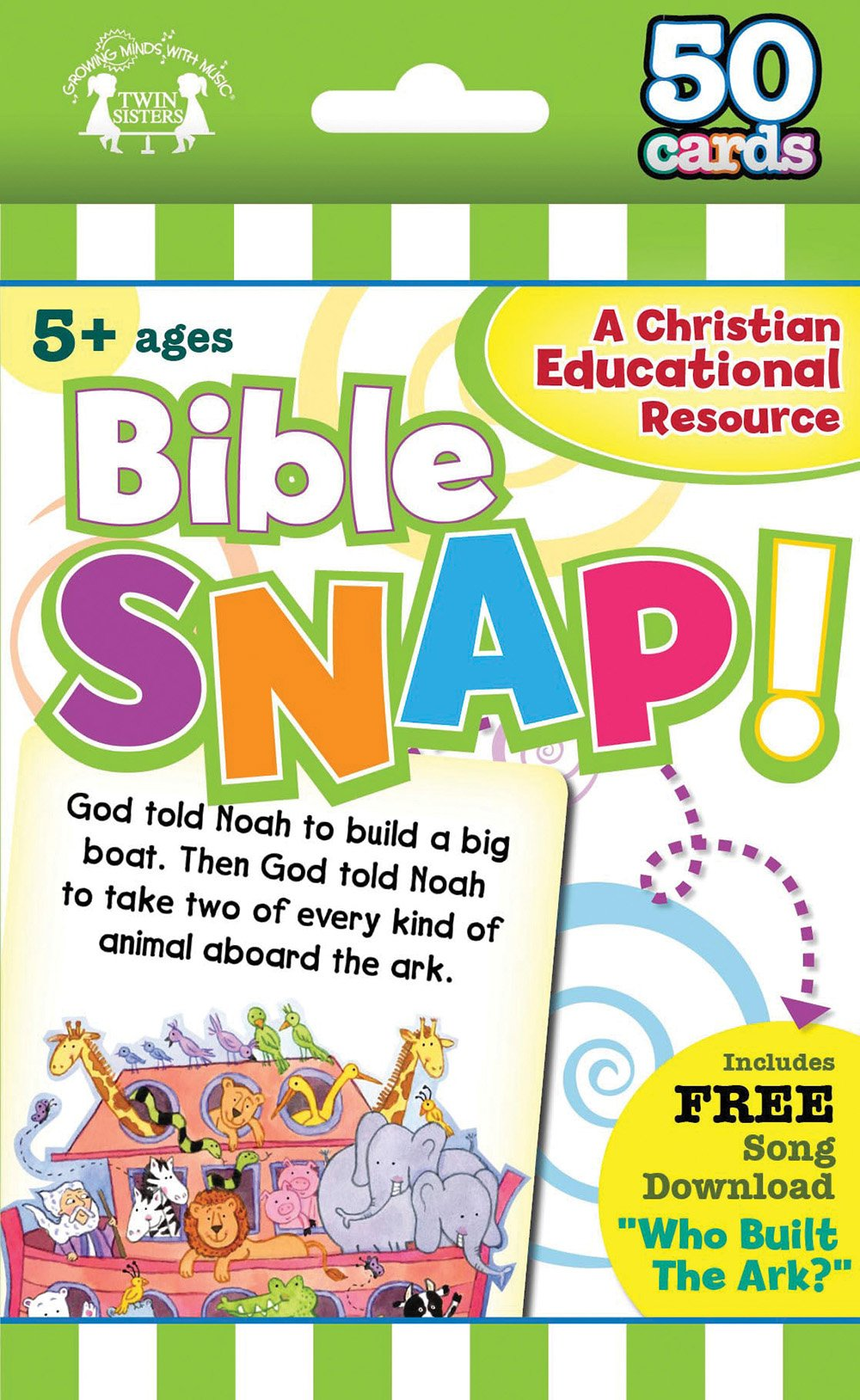 Download Bible Snap Christian 50-Count Game Cards (I'm Learning the Bible Flash Cards) pdf