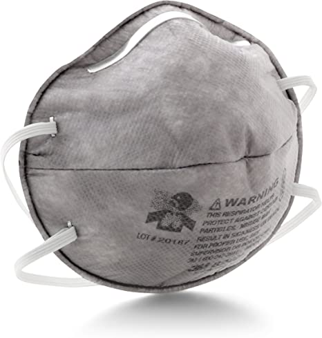 Respirator Box Ov Of 3m Relief R95 With 8247 20 Particulate
