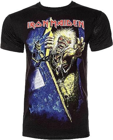 Oficial Camiseta Iron Maiden ~ no Prayer FOR THE Dying todos los tamaños