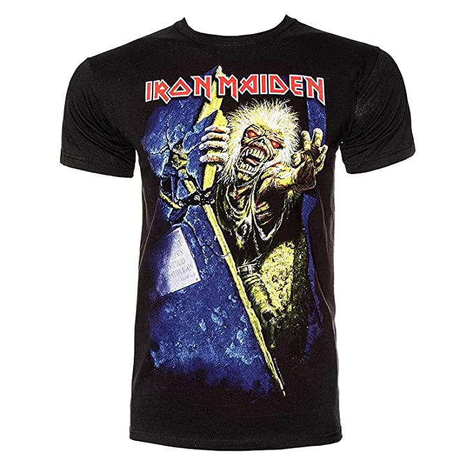Ripleys Clothing Oficial Camiseta Iron Maiden ~ no Prayer FOR The Dying Todos los tamaños: Amazon.es: Ropa y accesorios