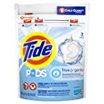 Tide PODS Free & Gentle, Liquid Laundry Detergent Pacs, 31 count,packaging may vary