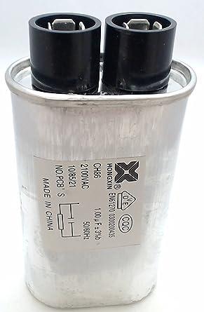 13qbp21100 microondas condensador 1.0uF reparación parte ...
