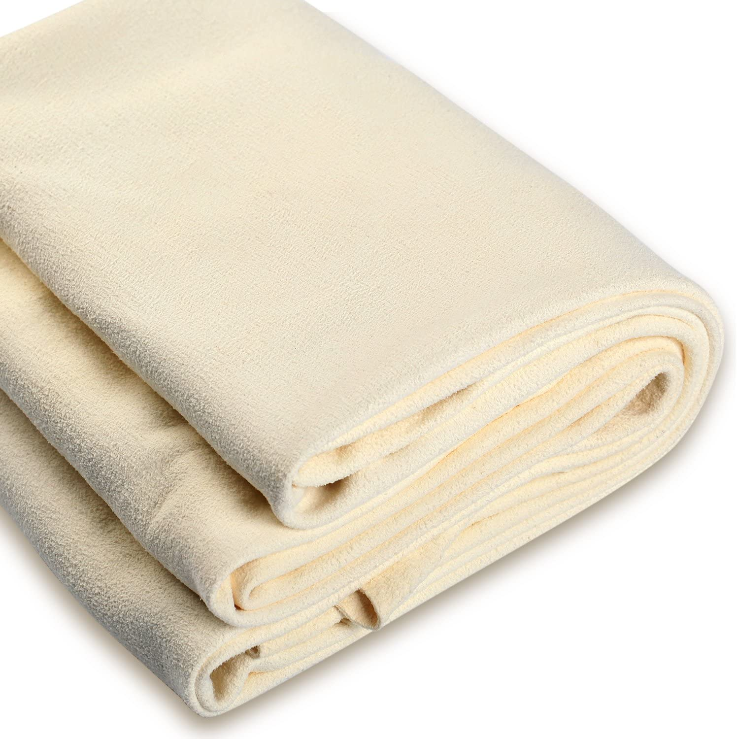 Natural Chamois Leather Car Cleaning Cloth Absorbent Home Washing Drying Towel
