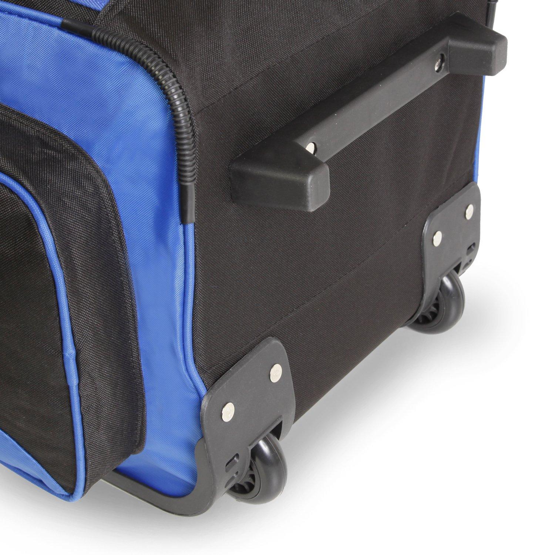 Fila 26'' Lightweight Rolling Duffel Bag, Blue, One Size by Fila (Image #7)