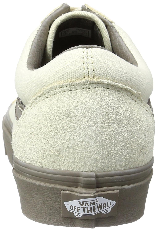 f4f660272acf92 Zapatillas de skate Vans Unisex Old Skool (C   D) Crema C y D   Nogal