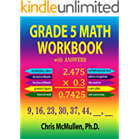 Grade 5 Math Workbook with Answers (Improve Your Math Fluency)