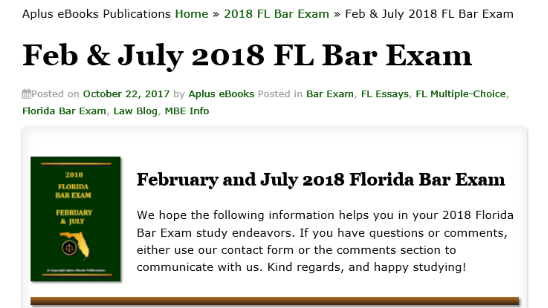 Amazon com: 2018 FLORIDA BAR EXAM: Appstore for Android