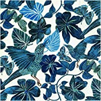 Guardanapo Jungle Dance Blue Paper Design Multicor 33 x 33 cm Papel