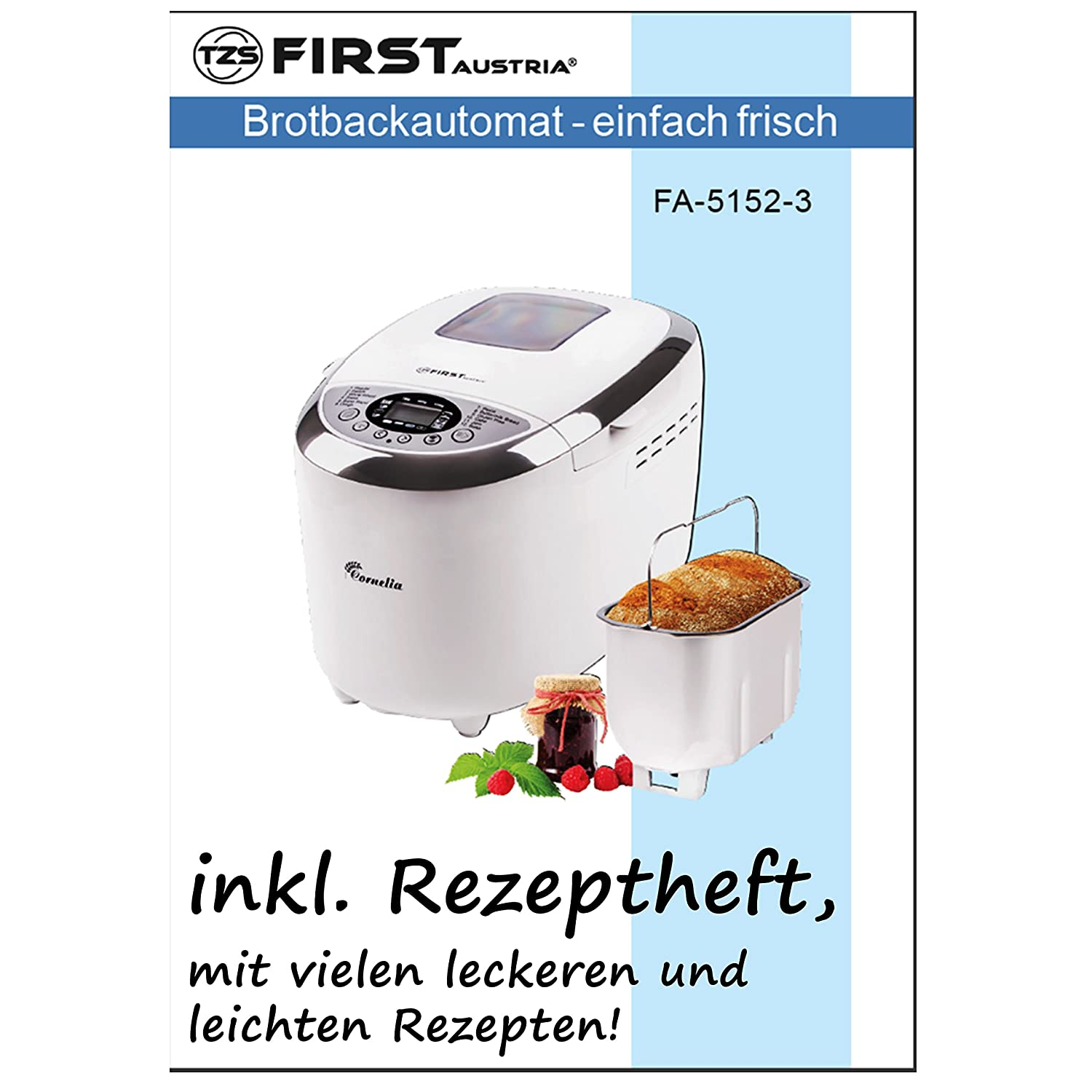 TZS First Austria FA-5152-3: Amazon.es: Hogar