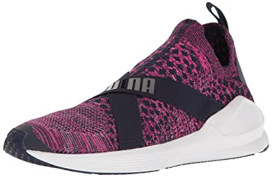 PUMA Women s Fierce Evoknit WN s Cross-Trainer Shoe Peacoat White 5784020ba