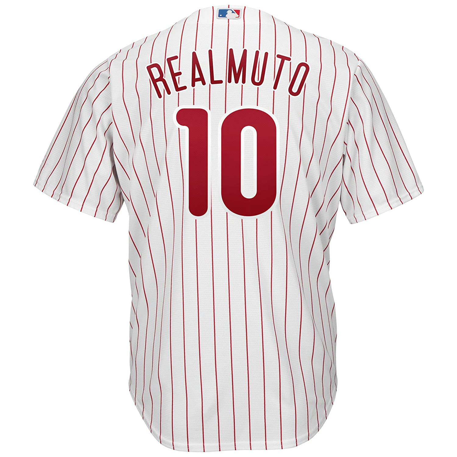 Relsemolo Mens//Womens//Youth/_JT/_Realmuto/_White/_Player/_Jersey