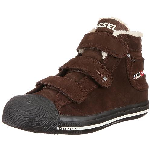 Diesel Kid 000BJ1 PS100 T2180 - Mocasines de ante para niños, color verde, talla 38: Amazon.es: Zapatos y complementos