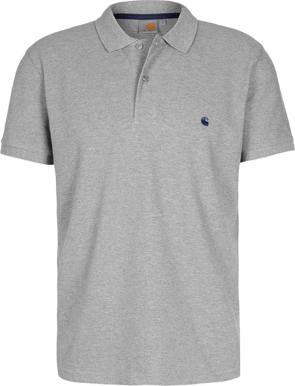 Carhartt WIP Slim Fit Polo Gris XL: Amazon.es: Ropa y accesorios