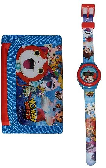 Reloj niño yo kai Watch Nathan LCD Plus cartera