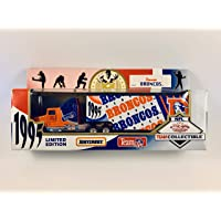 $24 » 1995 MATCHBOX NFL Team Collectible 1:87 Scale Die Cast Replica Tractor Trailer - DENVER BRONCOS