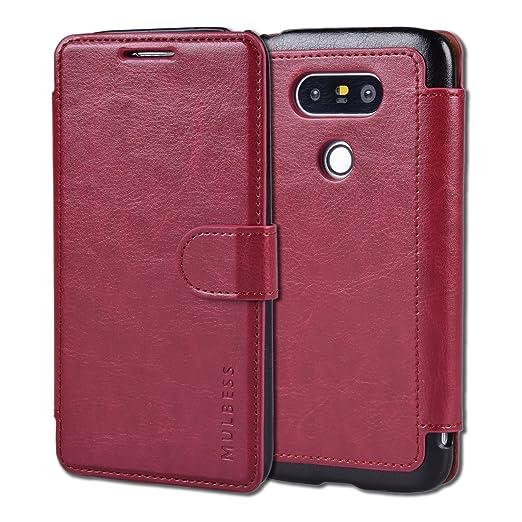 171 opinioni per Custodia LG G5- Cover LG G5- Mulbess Custodia In Pelle Con Flip Cover Per LG G5