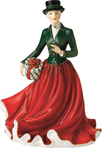 Royal Doulton Christmas Morning 2015 Figurine, 5.7 by 6.9 by 8.9 , Multicolor